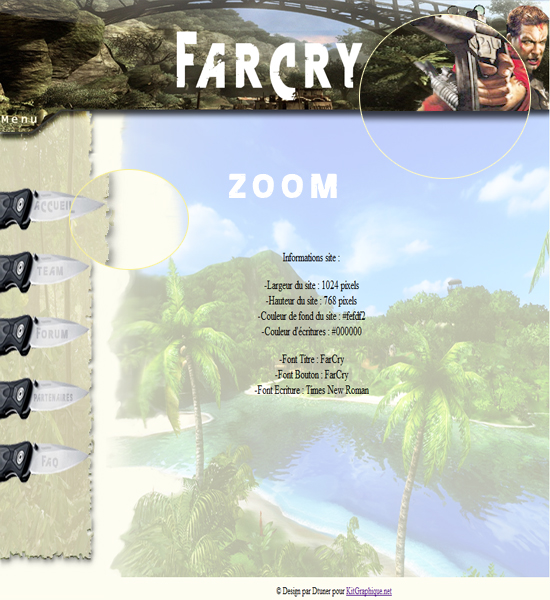 Apercu du kit Graphique FarCry Design
