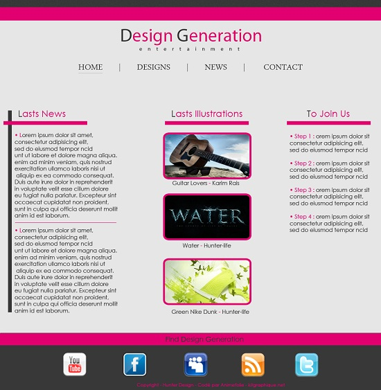 Télécharger maintenant ce kit design / kit graphique