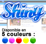 kit graphique Shiny-blue