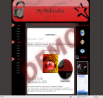 kit graphique MyWebRadio