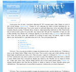 kit graphique BlueSky Template