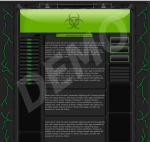 kit graphique Toxic Clan