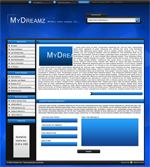 kit graphique MyDreamz - Blue