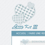 kit graphique Love kit 2