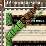 kit graphique Minecrafter