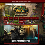 kit graphique Wow Pandaria