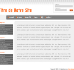 kit graphique gris/orange