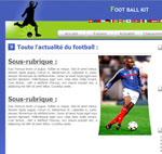 kit graphique Foot Ball