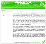 kit graphique Green design